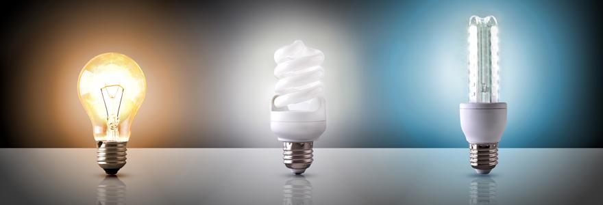 Ampoules LED e27 couleur eclairage